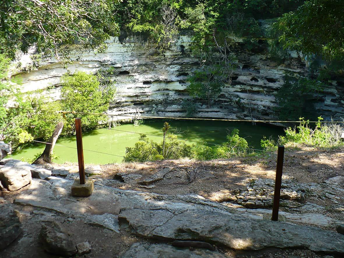 cenote-sagrado Chichen Itza