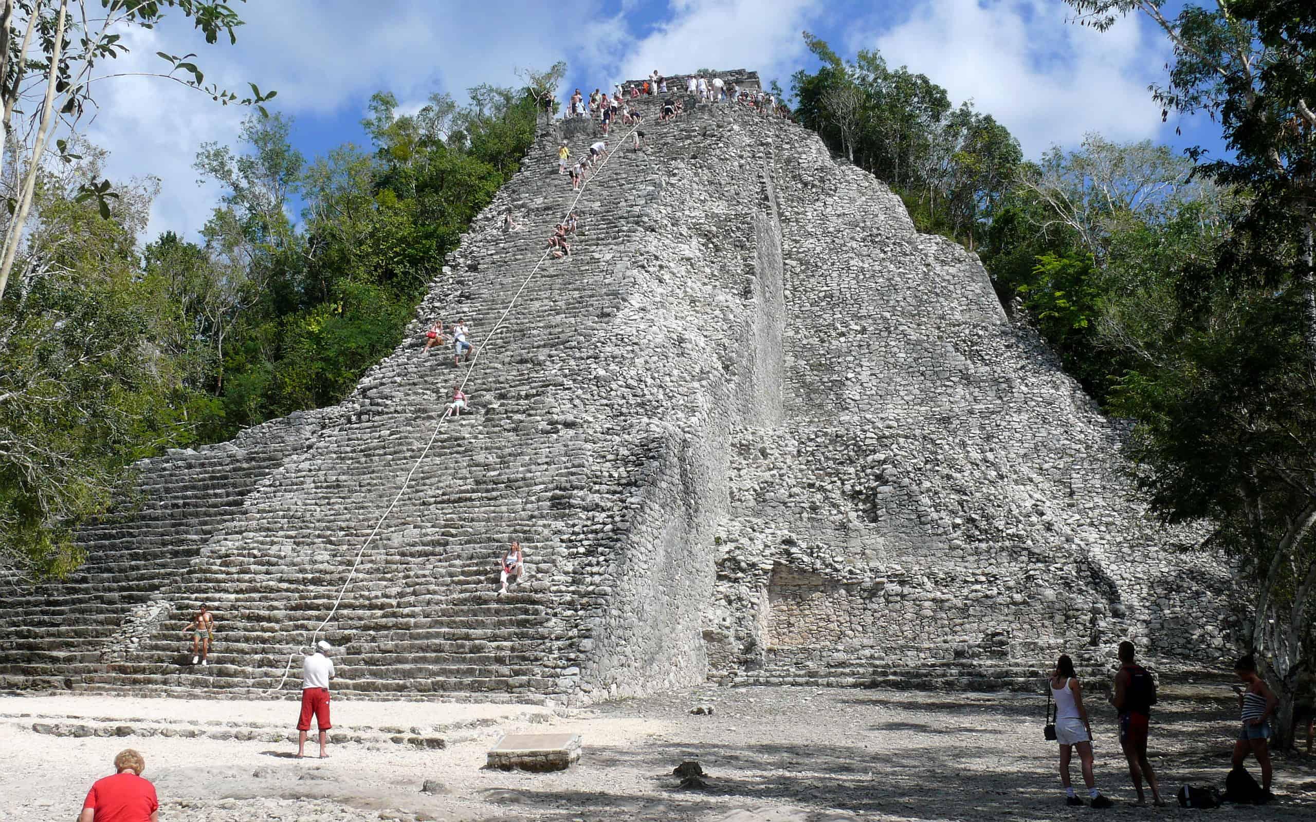 zonas arqueológicas en la Riviera Maya, Coba