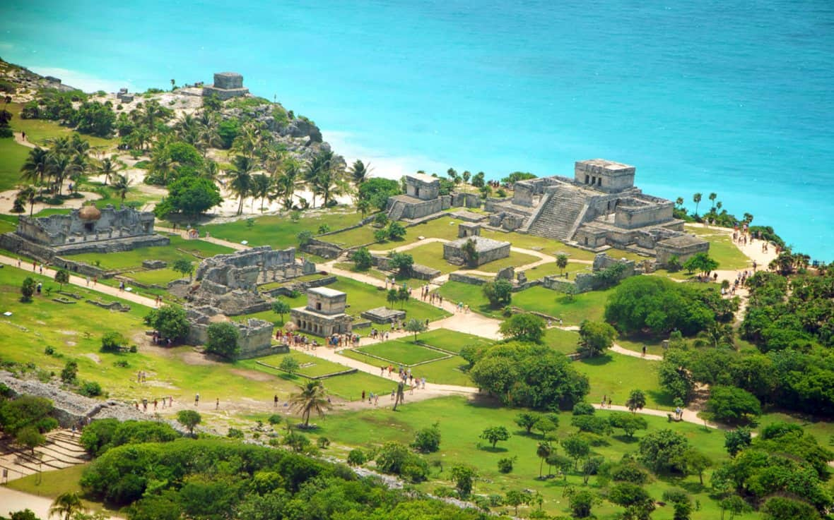 zonas arqueológicas en la Riviera Maya,Tulum