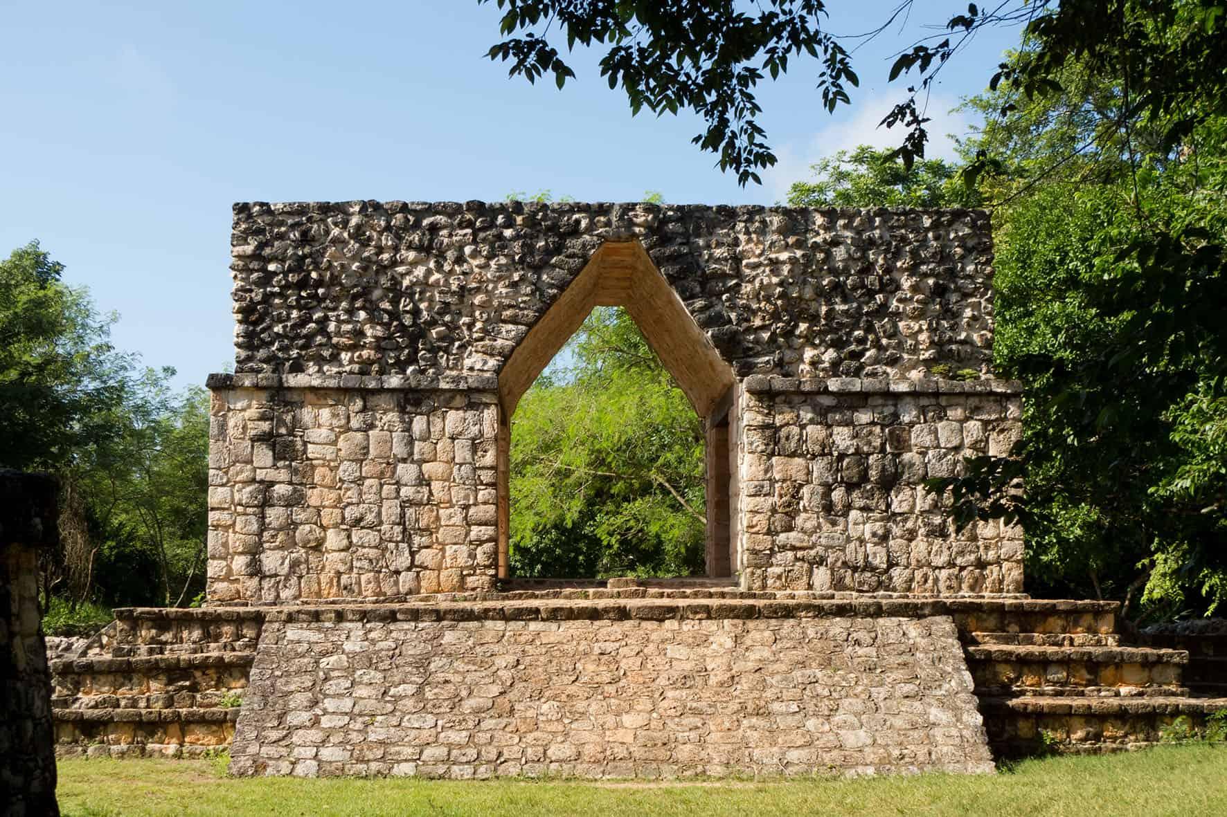 Ek Balam - Arco Maya