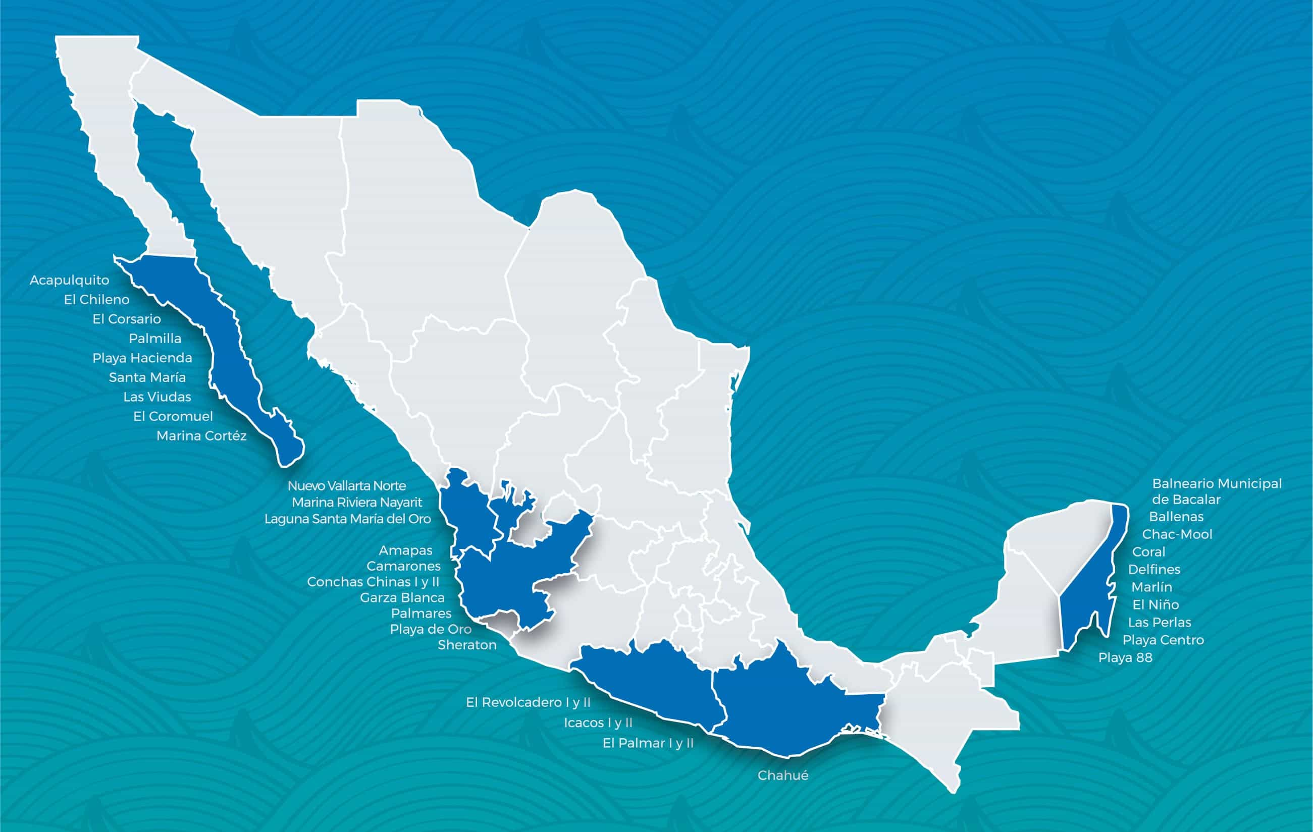 Playas Blue Flag de México