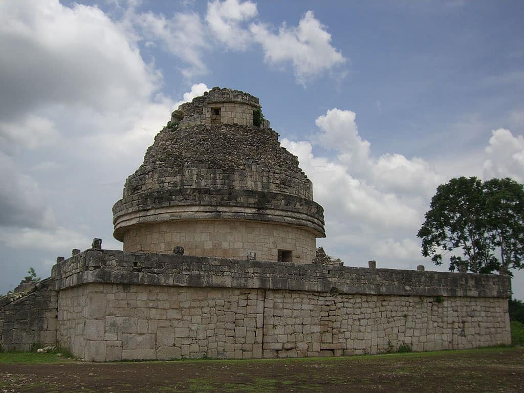 Observatorio Maya en Chichén Itzá