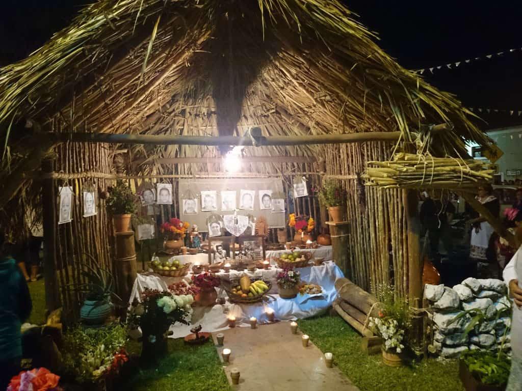Altar Hanal Pixan