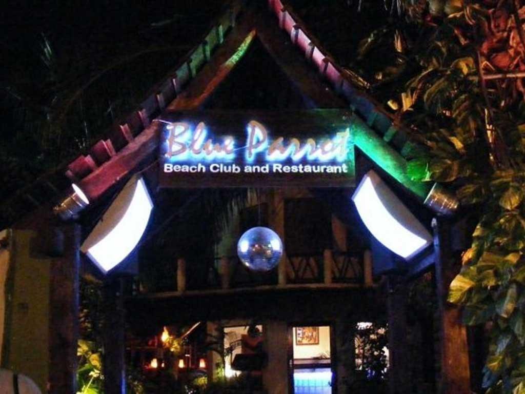 Blue Parrot, Playa del Carmen
