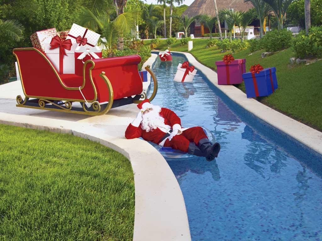 Navidad en la Riviera Maya